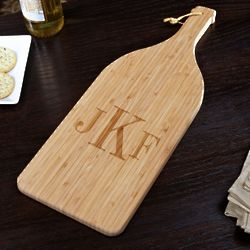Classic Monogram Bamboo Cutting Board