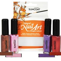 Water-Based Natural Nailart Kit in Bold