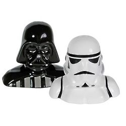 Darth Vader and Storm Trooper Shakers