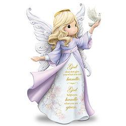Precious Moments My Strength, My Hope Angel Figurine