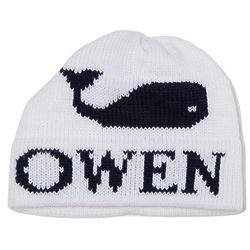 Child's Custom Single Whale Hat