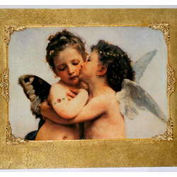 Kiss of Angels Wall Mounted Picture