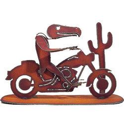 Buzzard Biker Sculpture