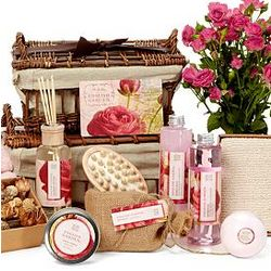 Deluxe Rose Petal Calming Spa Set
