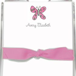 Flutter Butterfly Personalized Memo Set