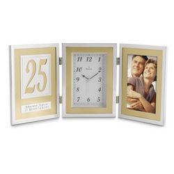 25th Anniversary Book Clock