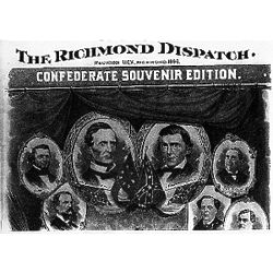 Confederate Reunion Historical Newspaper