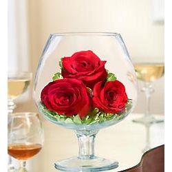 Brandy Rose Floral Arrangement