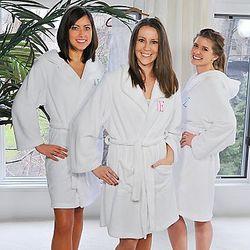 Plush Hooded Spa Robe