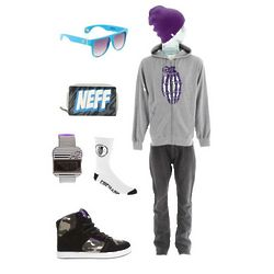 X Neff Collabo Mens Wardrobe