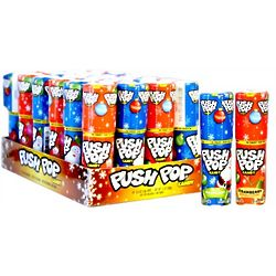 Push Pop Christmas Candy Package
