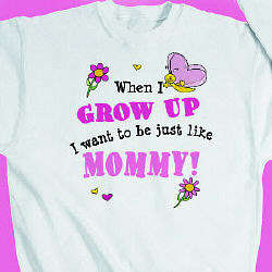 When I Grow Up Butterfly Youth Sweatshirt