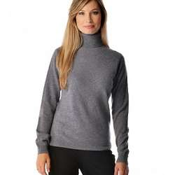 Women's Pure Cashmere Turtle Neck Sweater