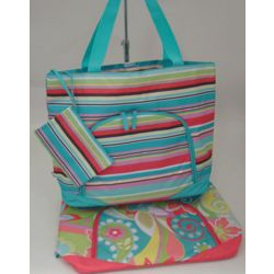 Large Personalized Vibrant Beach Bag