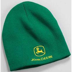 John Deere Adult Green Knit Beanie Cap