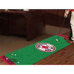 Boston Red Sox Golf Putting Green Runner