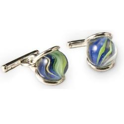 Interchangeable Marble Cufflinks