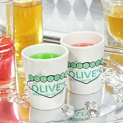 Ante Up Party Shot Glasses