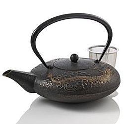 Imperial dragon cast iron teapot - Cast iron teapot dragon ...