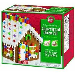 Pre-Baked and Pre-Assembled Gingerbread House