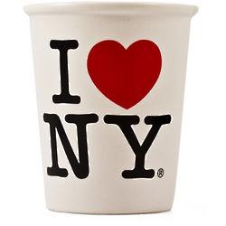 I Love NY Ceramic Paper Cup