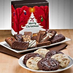 Merry Christmas Cookie and Sprite Bars Gift Box