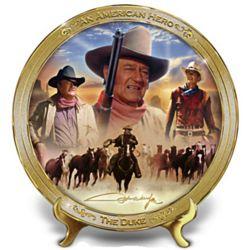 John Wayne: An American Hero Collector's Plate