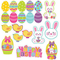 Easter Mega Pack Cutout Decorations