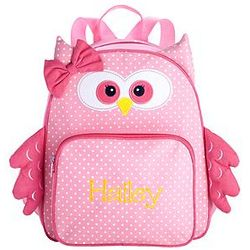 Personalized Little Critter Owl Backpack