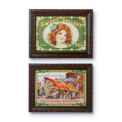 Vintage Tea Label Prints