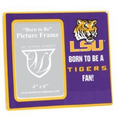 Louisiana State University Tigers Ceramic Born To Be Frame