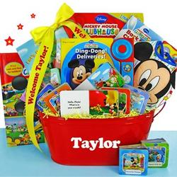Mickey Mouse Themed Gift Basket