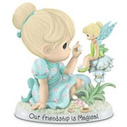 Precious Moments Our Friendship Is Magical Tinker Bell Figurine