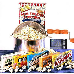 Matinee Idol Movie Buff Gift Basket