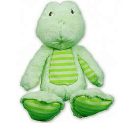 Silly Stripes Froggers Stuffed Animal