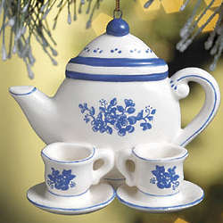 Friendship Teapot Ornament and Card