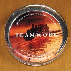 Teamwork Rowers Paperweight
