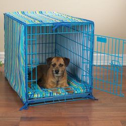 Dog Crate Cover and Dog Bed