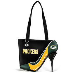 Kick Up Your Heels Green Bay Packers Handbag