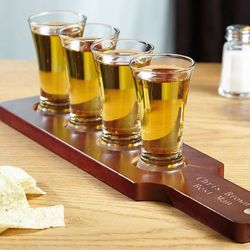 Friendly Flare Shot Glass Flight Set