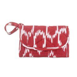 Ruby Maya Cotton Wristlet Bag