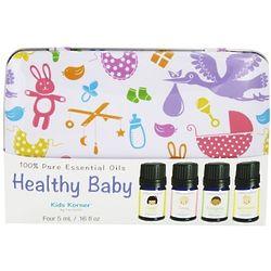 Kids Korner 4 Healthy Baby Pure Essential Oils Gift Pack