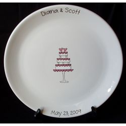 3-Tier Wedding Cake Signature Platter