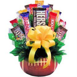 Football Fan Deluxe Candy Bouquet