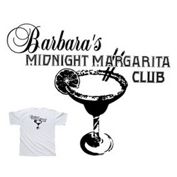 Personalized Margarita Club T-Shirt