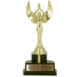 Customized Lady with Wings Trophy