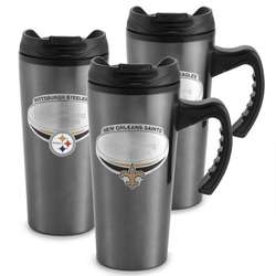 NFL Gunmetal Travel Mug