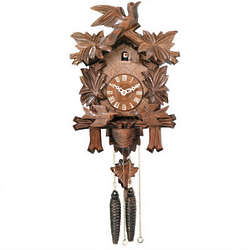 Cuckoo Clock with Moving Birds, Feed Nest Design
