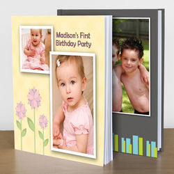 Custom Photo Memory Books