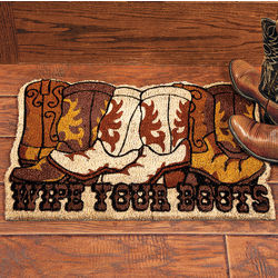 Wipe Your Boots Doormat